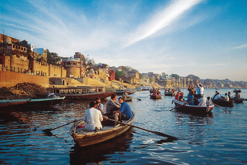 Ganges boat ride in Varanasi