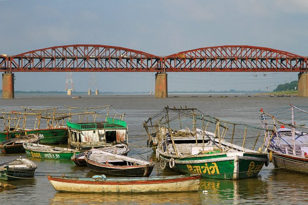 Malviya Bridge in Varanasi