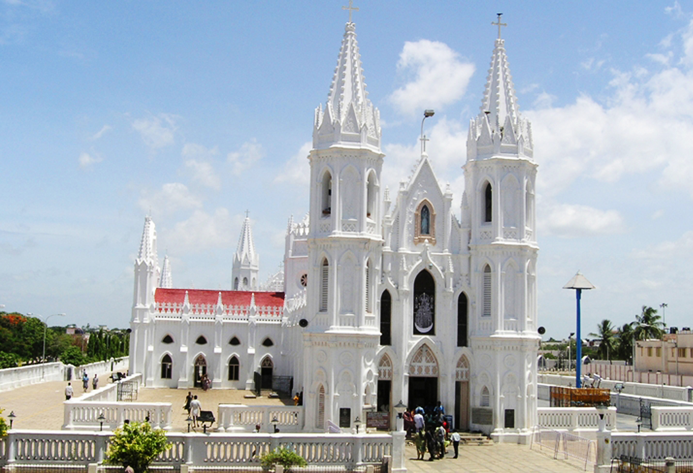 Velankanni Church in Tamil Nadu