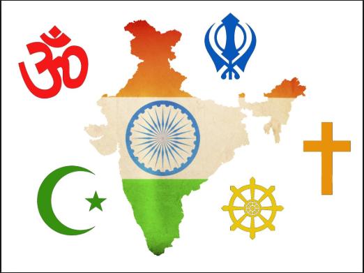 Religions are present in India