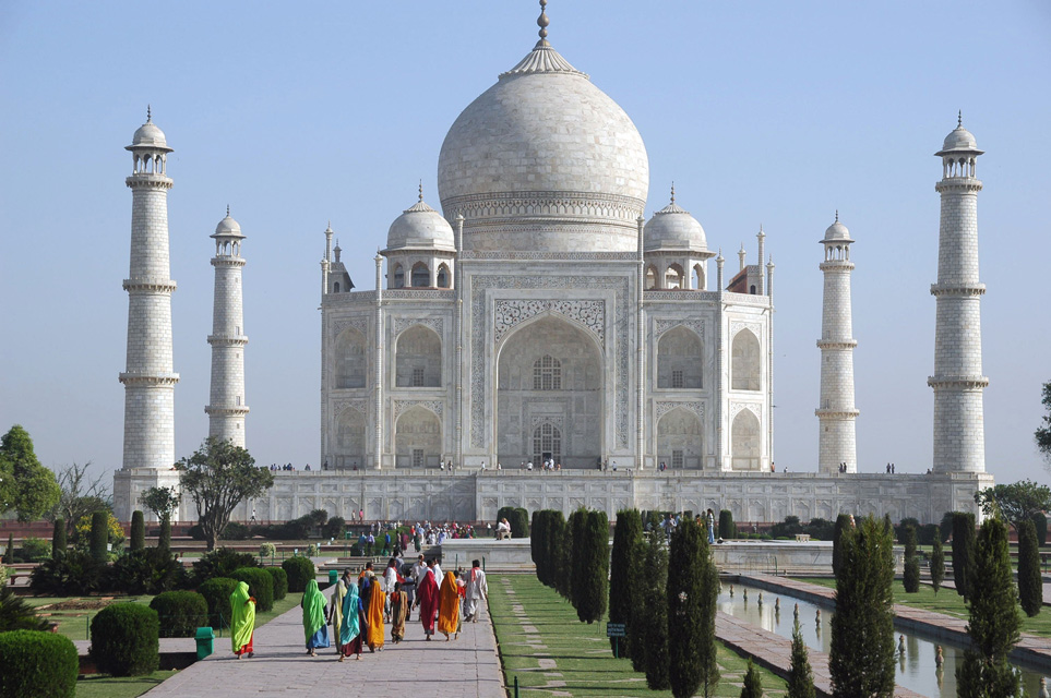 Taj Mahal-Marvellous Temple of Love