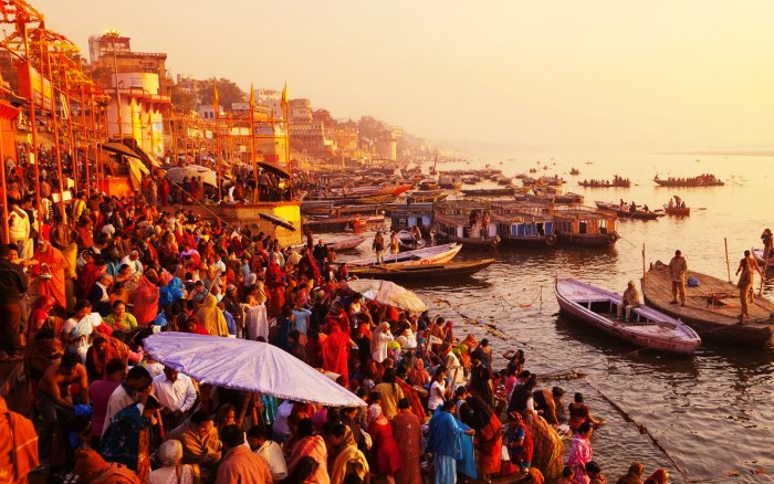 Ghats in banaras