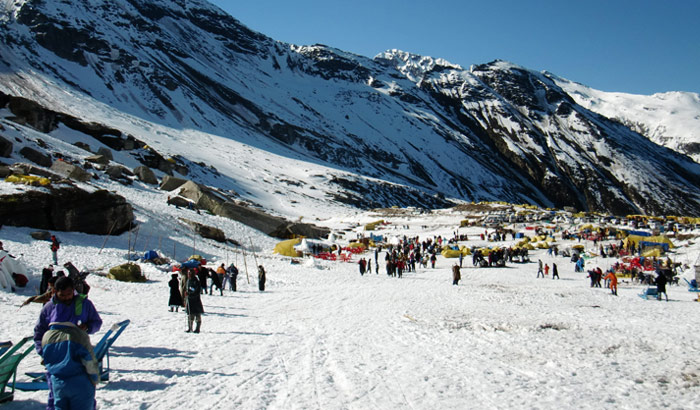 manali snow point