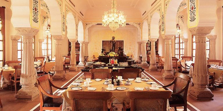 Dinning Area of Oberoi Rajvilas