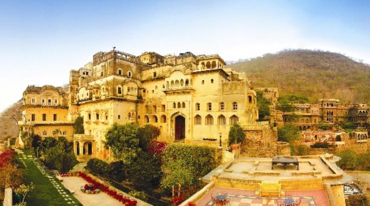 Neemrana Fort Palace Aravalli