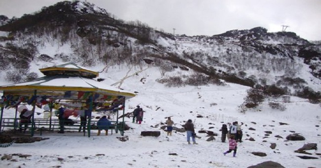 Lambasingi Snow Fall