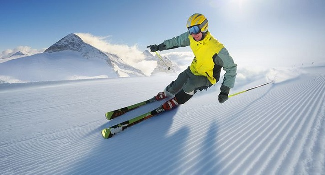 Ice-Skiing