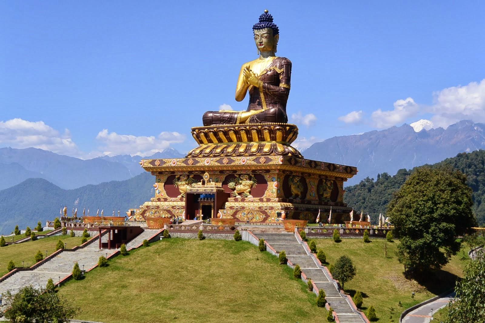 Sikkim-Buddha-park
