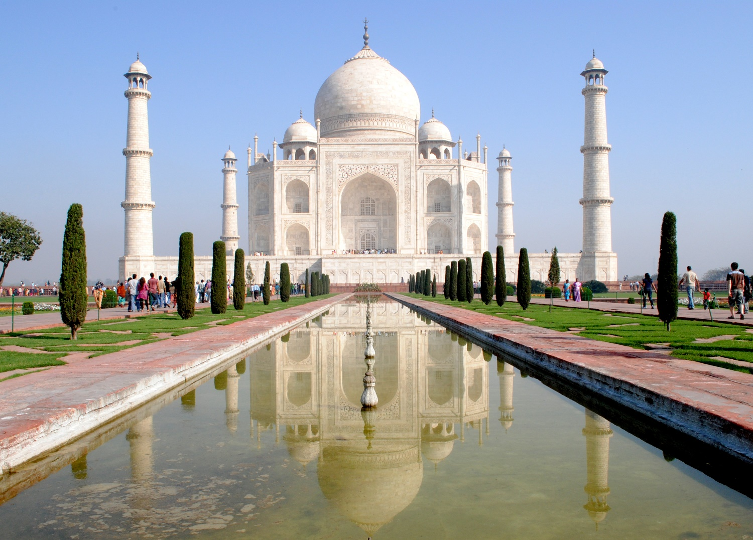 The Taj - Image Credit @ Wiki
