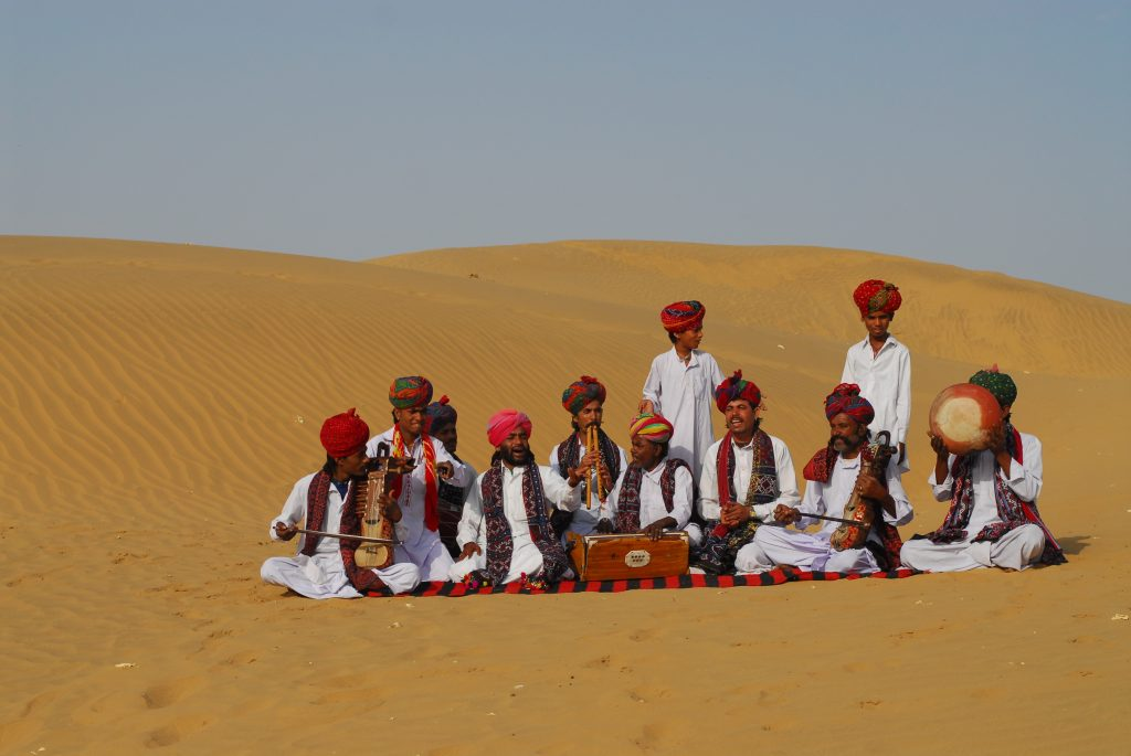 Rajasthani Folk Music Performances