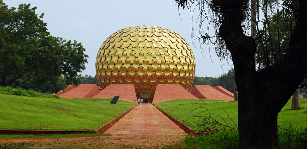 Matri Mandir Auroville Pondicherry