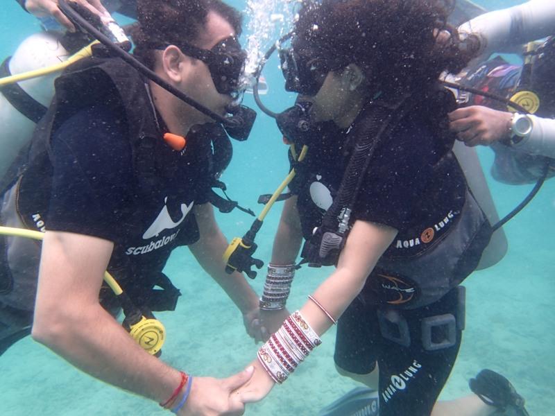 Scuba Diving Andaman Honeymoon