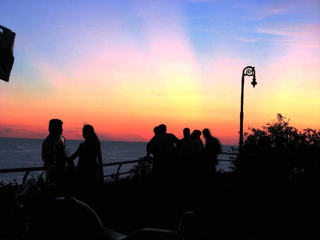 Varkala Beach Kerala Sunset View