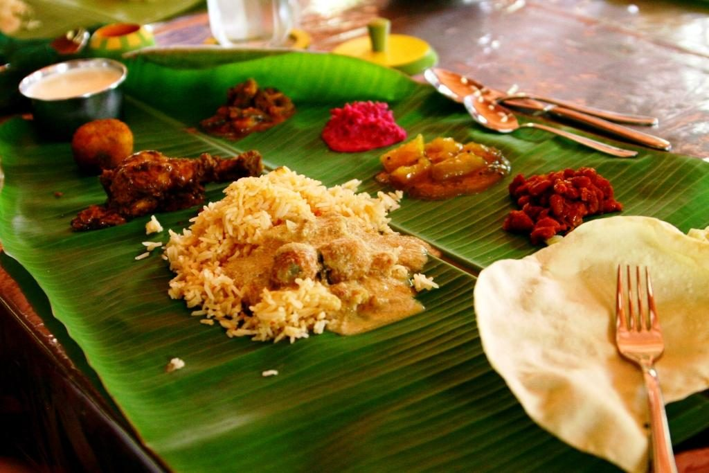 kovalam food