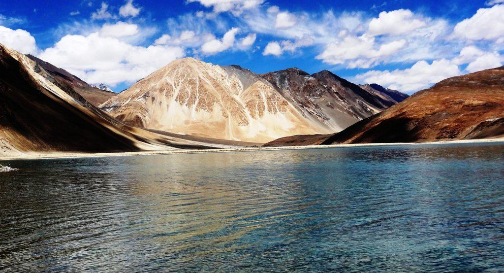 Pangong Lake in Ladakh