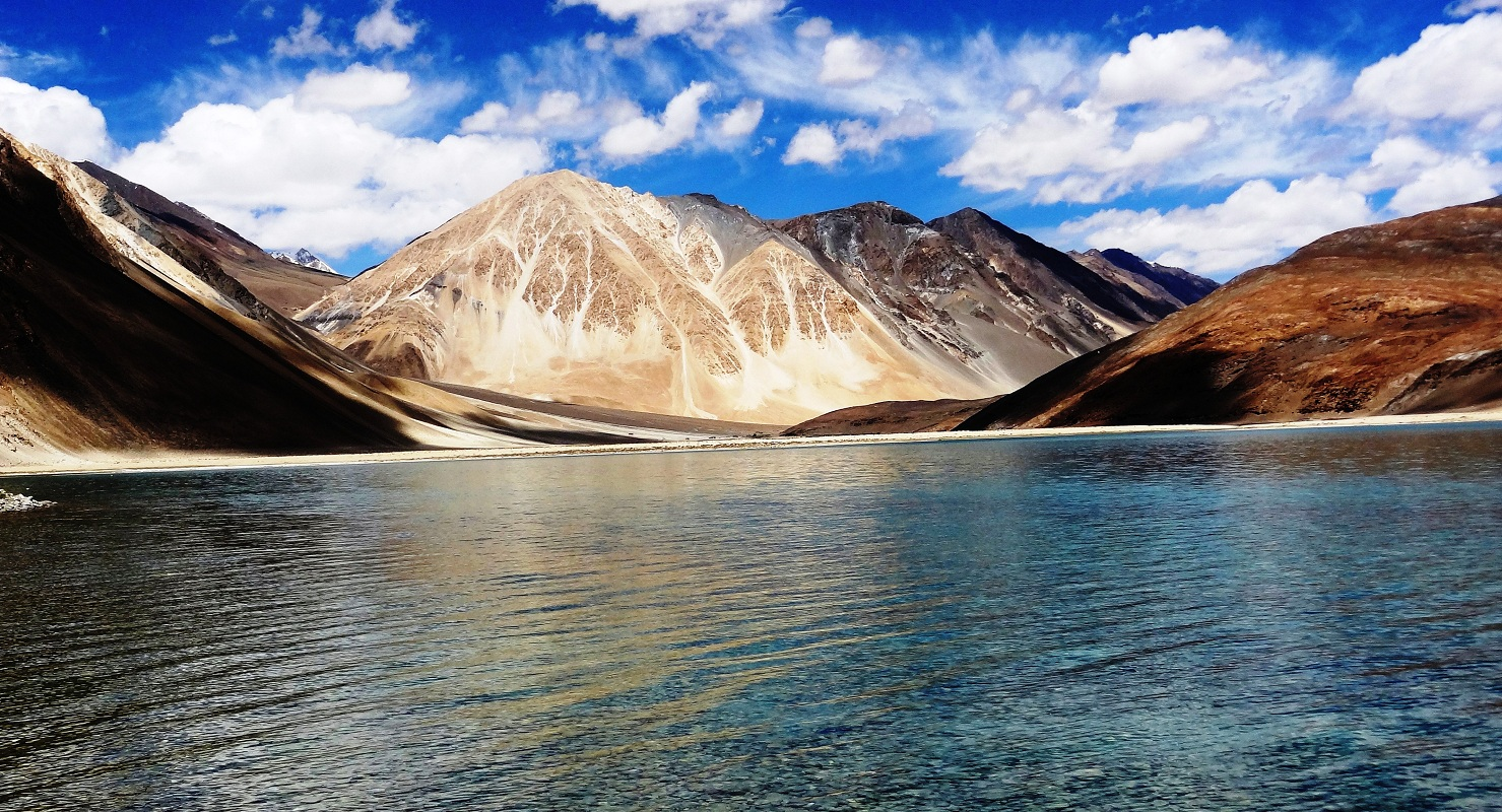 Image result for Pangong Lake in Ladakh