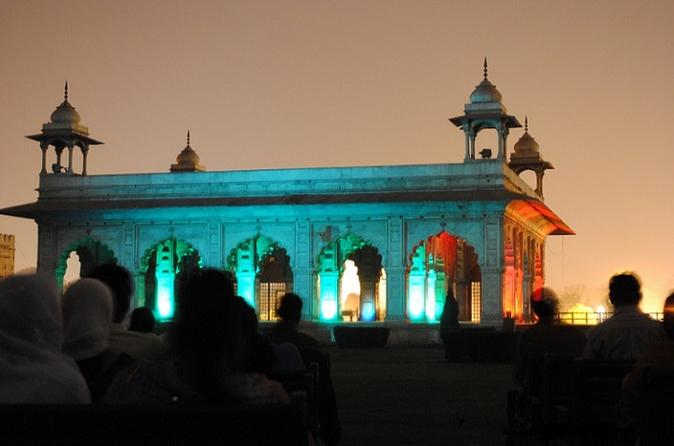 Sound & Light Show at Red Fort