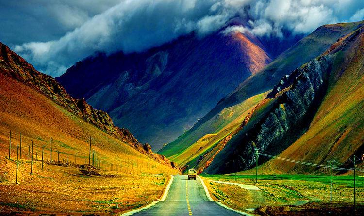 Dras Valley in ladakh