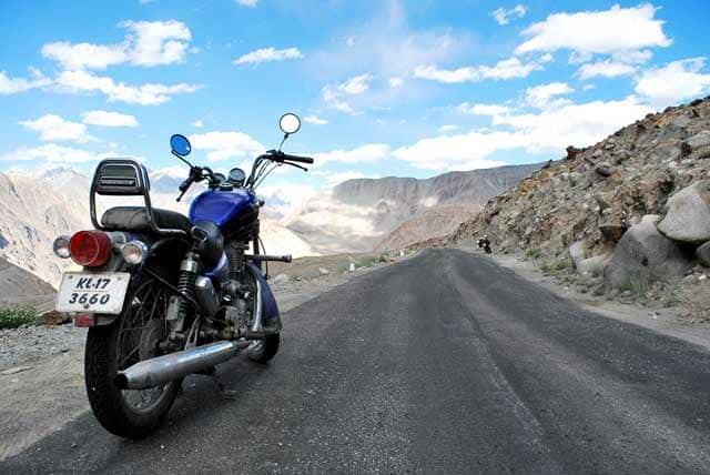 High mountain passes of Ladakh