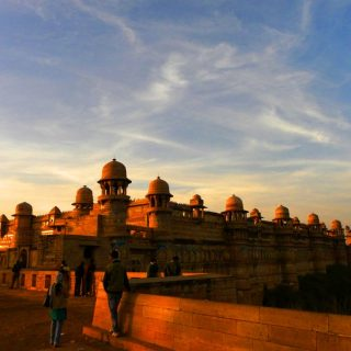 Geographical importance of Gwalior Fort