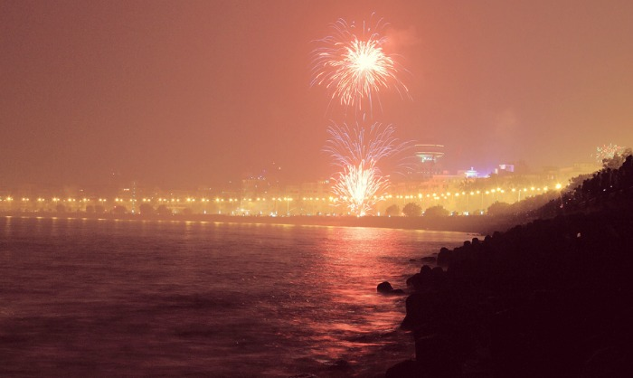 New Year at Mumbai