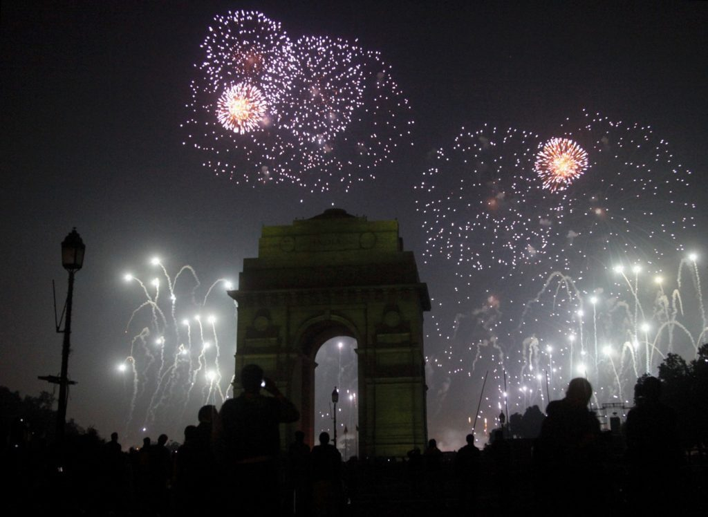 New Year in Delhi