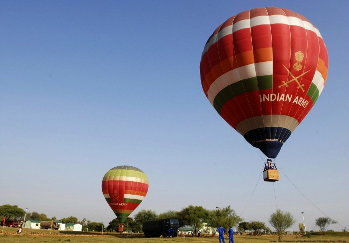 Hot air balloon safari Delhi, NCR
