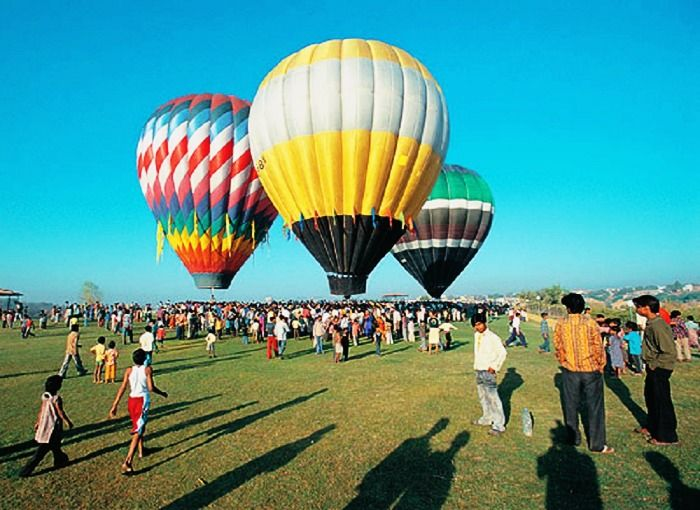 Hot air balloon safari in goa