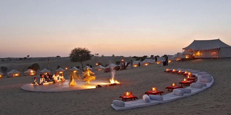 Best Places For Night Camping In Rajasthan Desert Camping