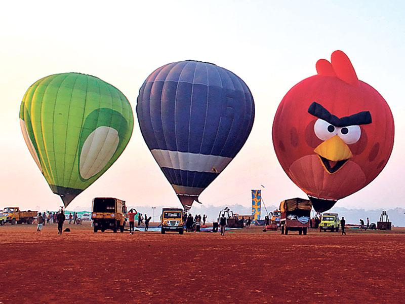 Hot air balloon Bhopal,