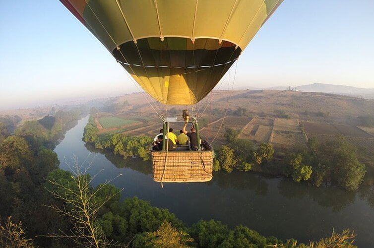 Hot air balloon safari in Kamshet