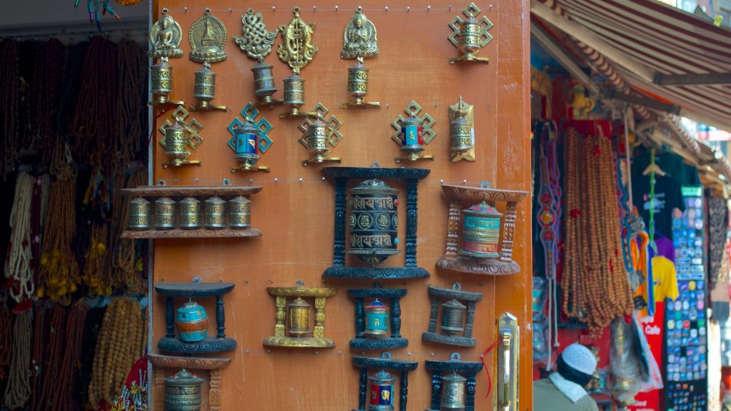 Shopping in Boudhanath