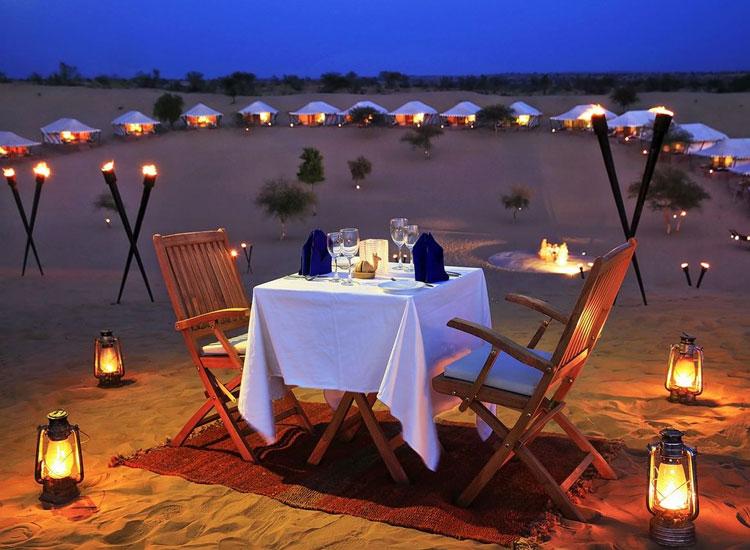 Night camping in Jodhpur