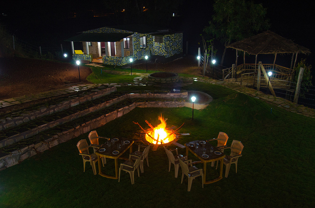 Night Camping in Mount Abu