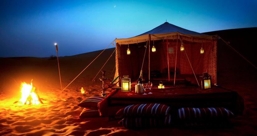 camping in jaipur