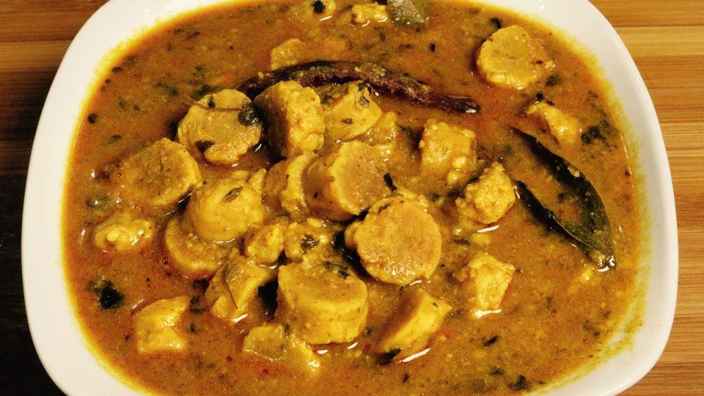 Gatte ki sbji ( Rajasthani sabji)