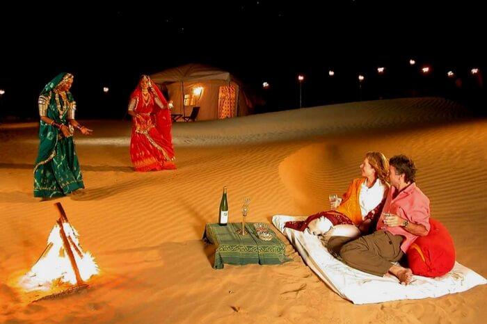 jaisalmer desert safari activities rajasthan night dance folk rajasthani