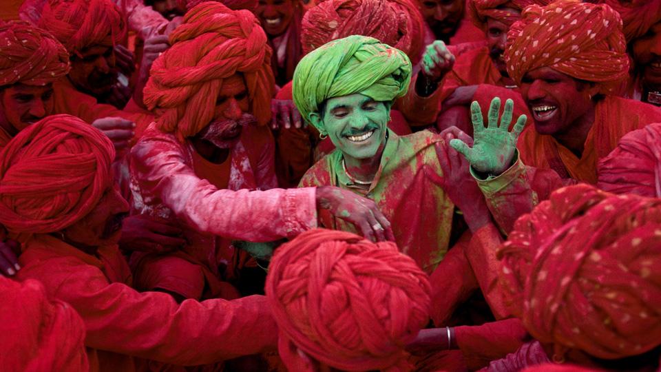 Brij Holi, Rajasthan