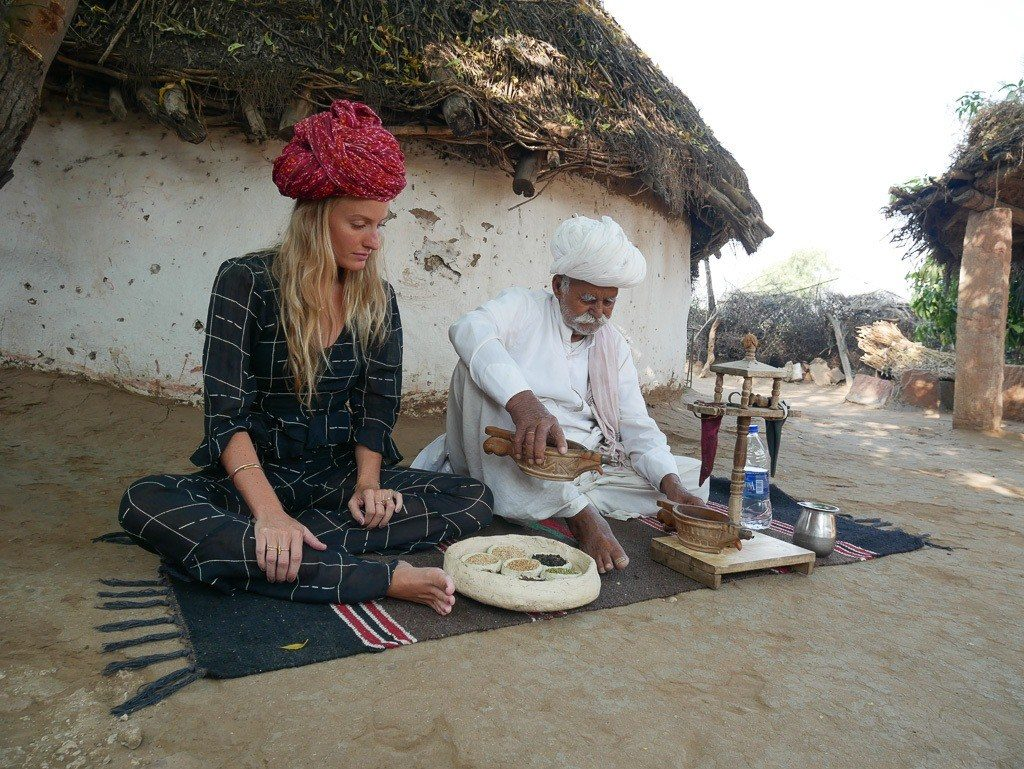 culture of Bishnoi Village