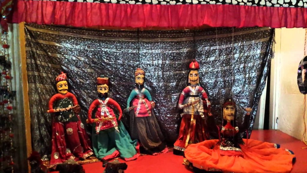 puppet show in chokhi dhani