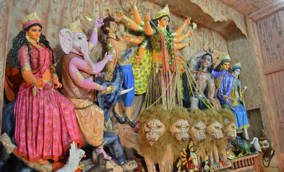 durga puja in hyderabad