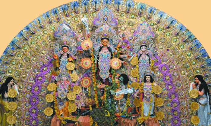 durga puja in lucknow