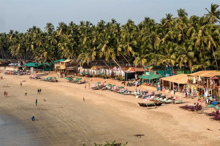 Ashwen Beach, Goa