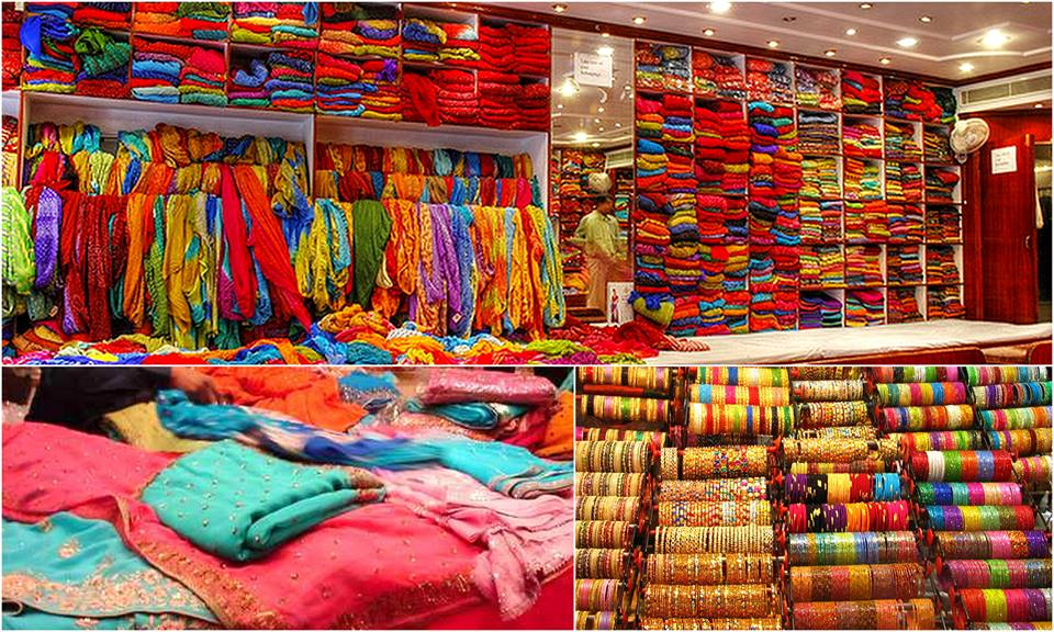 shopping in chandini chowk
