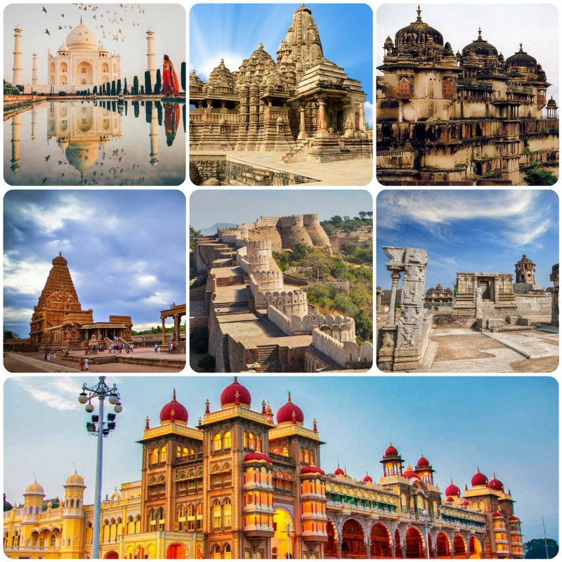 Monuments and History, India