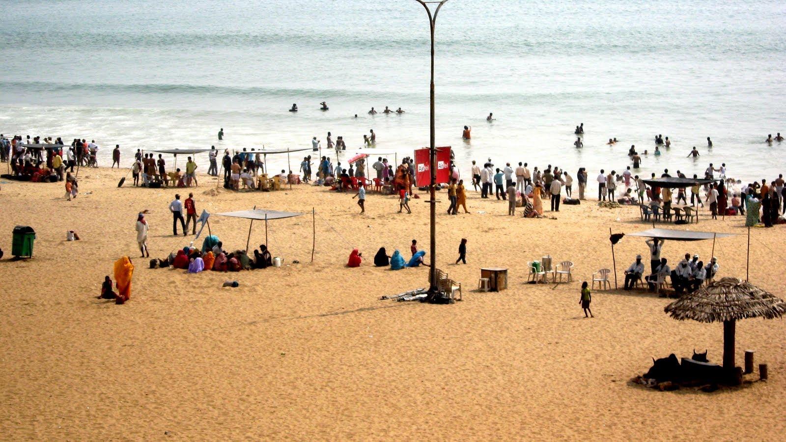 Puri Beach Orissa