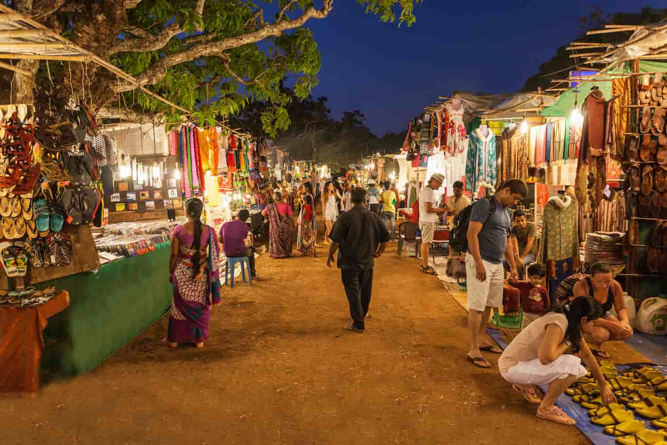 Shopping destinations in Goa