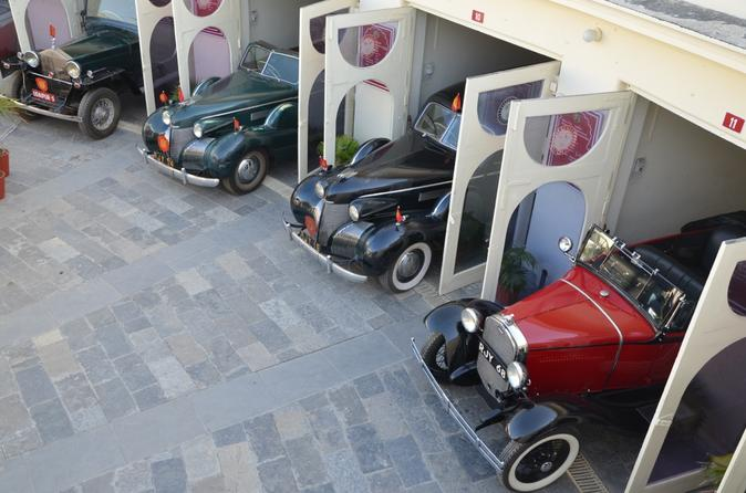Classic and Vintage car collection of Udaipur Palace