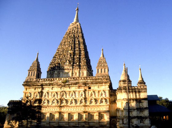 Mahabodhi temple of Burma