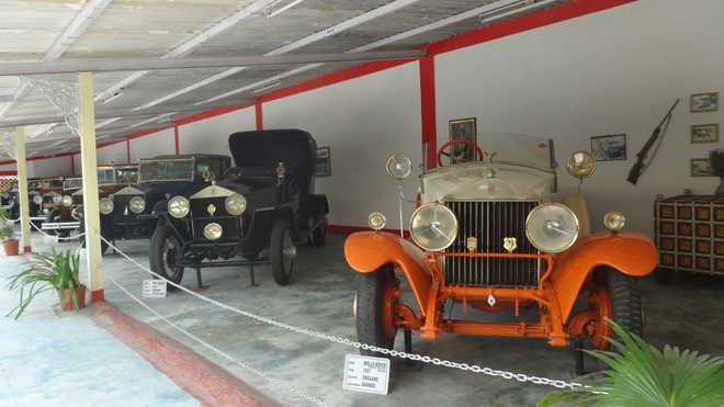 Pranlal Bhogilal Vintage car museum of Ahmedabad